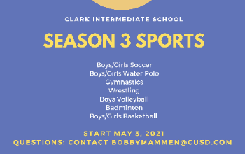 Season Three Sports Flyer
