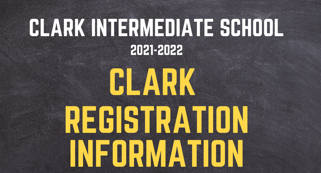 Registration for 2021-2022 School Year